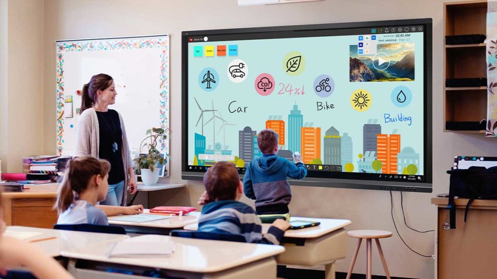 Technology In School And Business Presentations